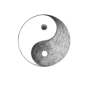 Yin-Yang-Zeichen